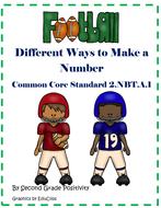 2ndGradeCommonCoreDifferentWaystoMakeaNumberFootballCenter.pdf