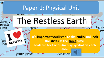 AQA A Geography Tectonics Revision Notes with Audio Assistance