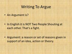 Writing-an-Argument.ppt