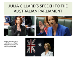 Julia-Gillard--Speech-to-the-Australian-Parliament--2012.pptx