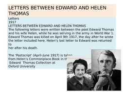 Letters-between-Edward-and-Helen-Thomas-1917.pptx