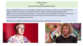 Grayson-Perry--Reith-Lecture--2013.pptx