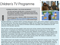 CBBC's-Horrible-Histories--The-Stone-Age-Report--May-2009.pptx