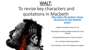 Macbeth revision pack