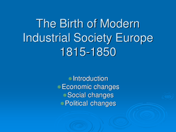 Industrial Change in the 19th and 20th Century