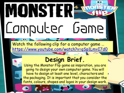 Monster Computer Game