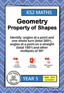 Year 5 - Identify angles in full turn, straight line, 90 ...