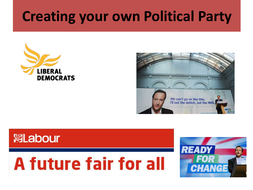 creating your own political party lesson by leigh canning teaching