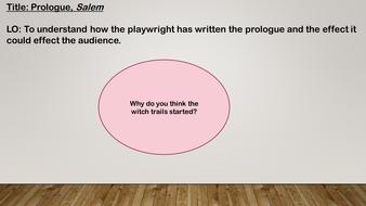 Salem Prologue
