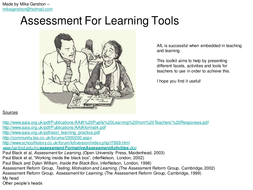 Assessment_For_Learning_Activities.ppt