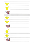 Simple plenary template for two stars and a wish