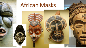 African Mask Photo Bank / Library of Images