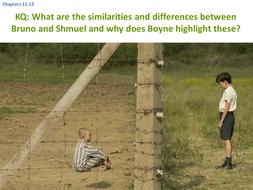 bruno and shmuel similarities