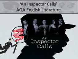An Inspector Calls AQA GCSE Literature Paper 2