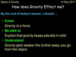 Gravity Lesson
