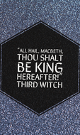 Key Quotes on Power in Macbeth - Display