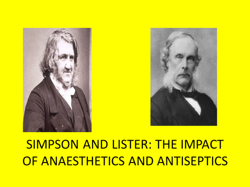 GCSE History Medicine in Britain L16 The Impact of Anesthetics and Antiseptics