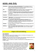 Eduqas Religious Education Good and Evil revision guide