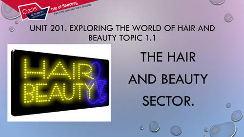 Level 2 technicals. Hair and beauty level 2. unit 201. topics 1.1 & 1.2