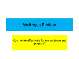 L3-Review-Writing.ppt