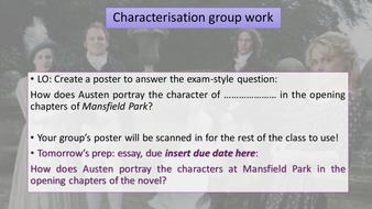 mansfield park essay