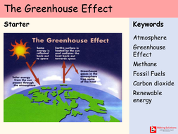 AQA Chapter 9 - Lesson 3 and 4 - The Greenhouse Effect.pptx