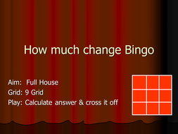 How-much-change-from--1-Bingo.ppt