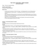Edexcel English Language Revision: Exam Guide