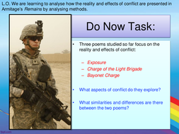 AQA Power and Conflict - Remains