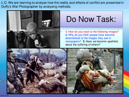 AQA Power and Conflict - War Photographer
