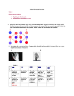 SOLO assessment worksheet on locomotion in animals
