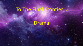 Space Lesson - Drama (one off)