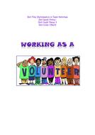 Entry 2 - Working as a Volunteer
