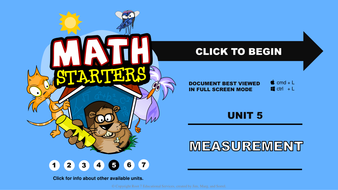 Math Starters - Measurement