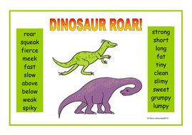 dinosaur roar eyfs ks1 teaching resources literacy maths by bettyboop123 teaching resources tes. Black Bedroom Furniture Sets. Home Design Ideas