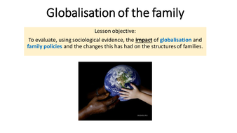 impact of globalisation on family