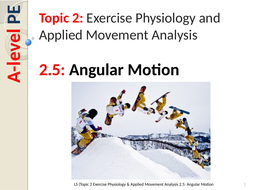 a level pe edexcel new spec 2016 2 5 angular motion by