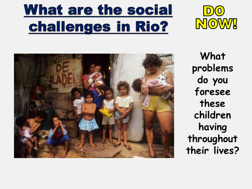New AQA GCSE- Urban Issues and Challenges Lesson #4