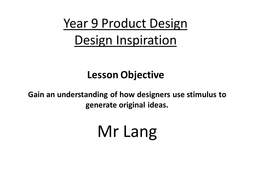design inspiration exercise by sdl teaching resources tes
