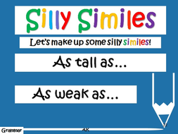 simile for weak