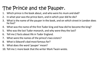 the prince and the pauper quotes