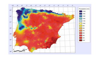 Physical geography of spain by krisgreg30 teaching resources tes lesson 4 average rainfallpdf gumiabroncs Choice Image