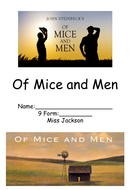 Of Mice and Men KS3 Work Booklet