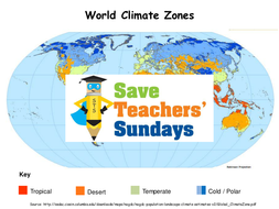 Climate zones map ks2 lesson plan worksheet and map by lesson 2 world climate zones mappptx gumiabroncs Image collections