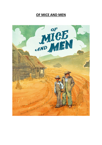 Of Mice And Men Revision Booklet