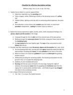 english descriptive writing techniques