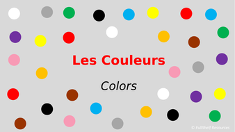 French-Colors-Presentation-TES-(US-Spelling)..pptx