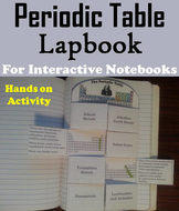 Periodic table of elements lapbook by sciencespot teaching cover page urtaz Gallery