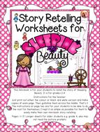 Sleeping Beauty - Retelling Worksheets by TeacherNyla - Teaching ...