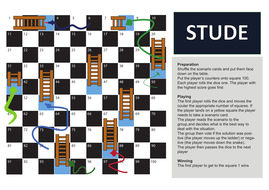 Respect snakes and ladders game